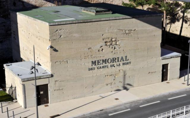 Le Mémorial des Camps de la mort, situé à Marseille. (Crédit : tourisme-marseille.com)