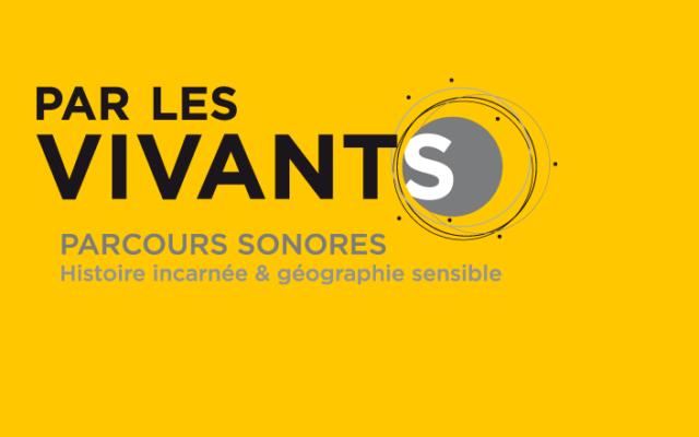 """Le site du projet """"Par les vivants""""."""