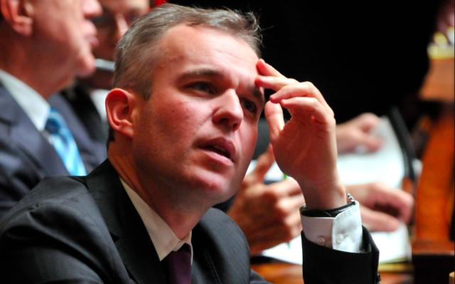 Le député François de Rugy en 2011. (Crédit : François de Rugy / CC BY 2.0)