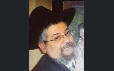 Shalom Lévy, Juif loubavitch de Strasbourg qui a été grièvement blessé au couteau le 19 août 2016 dans une attaque antisémite. (Crédit : famille Lévy)