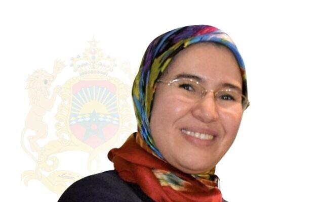 Nezha El Ouafi, ministre marocaine déléguée auprès du ministère des Affaires étrangères chargée des Marocains résidant à l'étranger et Secrétaire d'Etat chargée du Développement Durable. (Crédit : Marocainsdumonde.gov.ma)