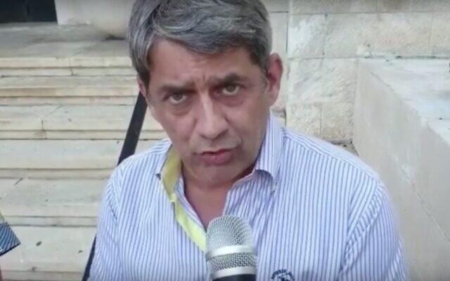 La maire-adjoint de Haïfa Lazar Kaplan. (Capture d'écran/YouTube)
