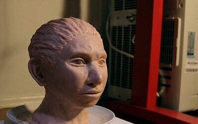 Une reconstitutions 3-D d'une femme de Denisova. (Maayan Harel)