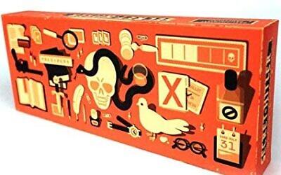 """Le jeu de société """"Hitler secret"""", comme il est proposé à la vente sur Amazon.com"""