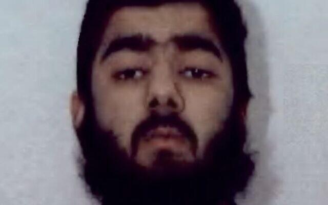 Usman Khan, soupçonné dans une série d'attaques au couteau à Londres (Crédit : West Midlands Police)