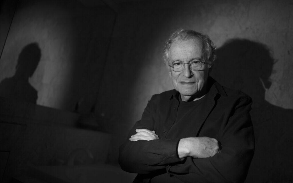 Ryszard Horowitz, connu comme l'un des plus jeunes survivants d'Auschwitz (Crédit : Gilles Peress/Magnum Photos/The Lonka Project)