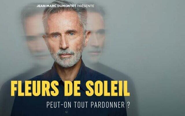 «Fleurs de Soleil», adaptée du livre éponyme de Simon Wiesenthal, au théâtre Antoine, à Paris, jusqu'au 29 mars 2020.