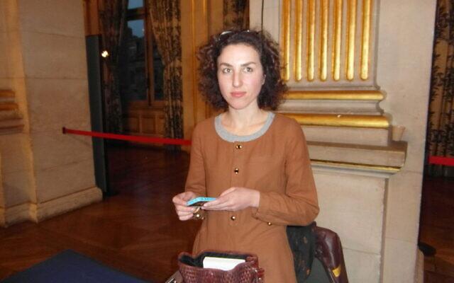 Cloé Korman à la 20e édition du festival Maghreb des Livres, à Paris, le 8 février 2014. (Crédit : Indif / CC BY-SA 3.0)