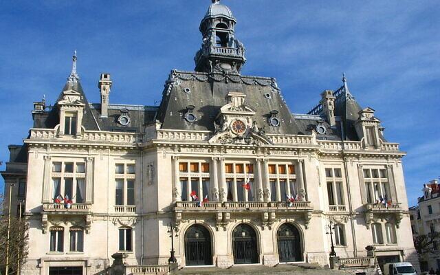 L'Hôtel de ville de Vichy. (Crédit : Yvon Toucassé/ CC BY-SA 4.0)