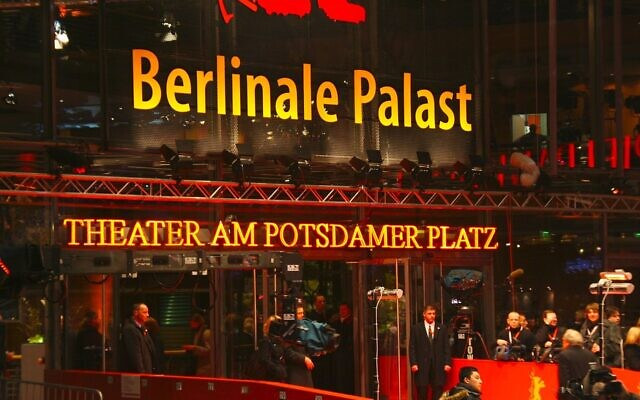 Le Palais du festival international du Film de Berlin. (Crédit : CC BY-SA 3.0)