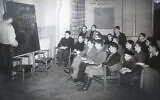 Enfants à l'école du Calgarth Estate vers 1946. (Lake District Holocaust Project)
