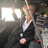 """Bernard-Henri Lévy dans son film """"Peshmerga"""". (Avec l'aimable autorisation de Cohen Media Group)"""