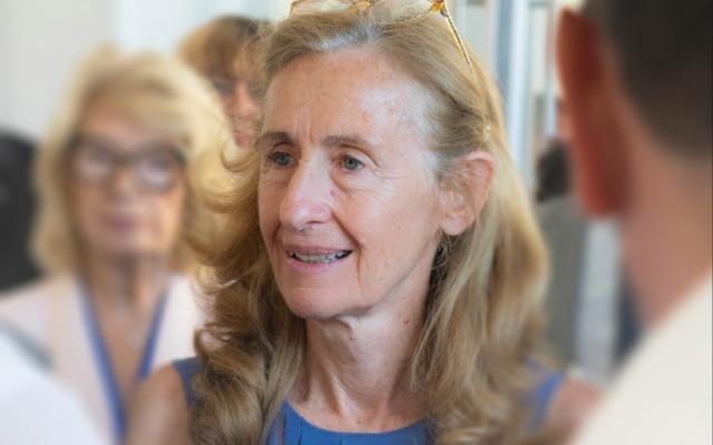 Nicole Belloubet, ministre de la Justice, le 26 juin 2019. (Crédit : Enrique Prazian / CC BY-SA 4.0)