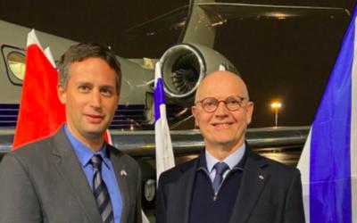 Serge Telle, Ministre d'Etat de la Principauté de Monaco (Crédit : ambassade israélienne Twitter)