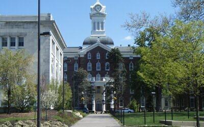 Le campus de Kutztown University en 2010 (Crédit : Wikimedia Commons)