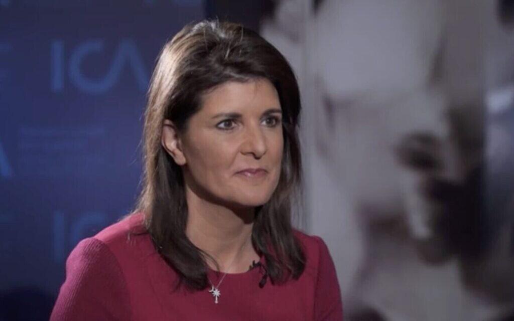 L'ex-envoyée américaine Haley défend le timing de la révélation du plan de paix