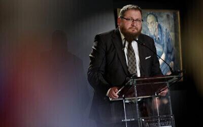 Piotr Cywinski, directeur du Musée d'Auschwitz. (Jaroslaw Praszkiewicz)