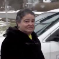 Tara Rios a été accusée de harcèlement au premier degré comme crime de haine pour avoir jeté des côtelettes de porc sur une synagogue (Crédit  WRGB Albany via JTA)