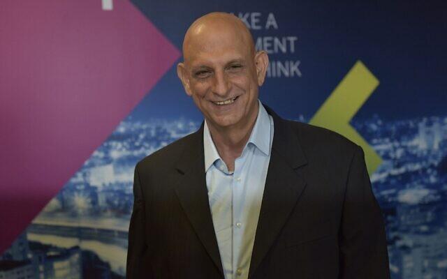 Aharon Aharon, le PDG de l'Autorité israélienne de l'Innovation. (Crédit)