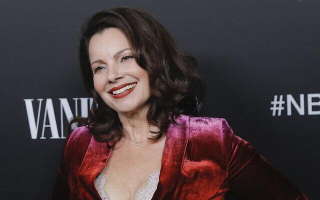 Fran Drescher à Los Angeles, le 11 novembre 2019. (Crédit : Tibrina Hobson/Getty Images via JTA)