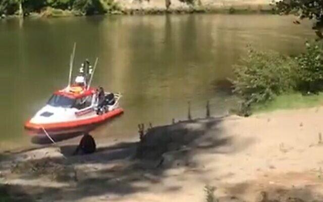 Les sauveteurs recherchent un randonneur israélien disparu sur la rivière Whanganui en Nouvelle-Zélande. (Capture d'écran via Kan)