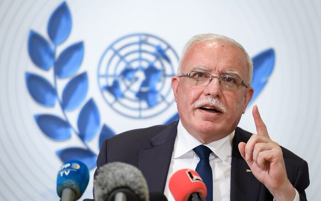 Construction en zone E1: Riyad al-Maliki dénonce les annonces de Netanyahu