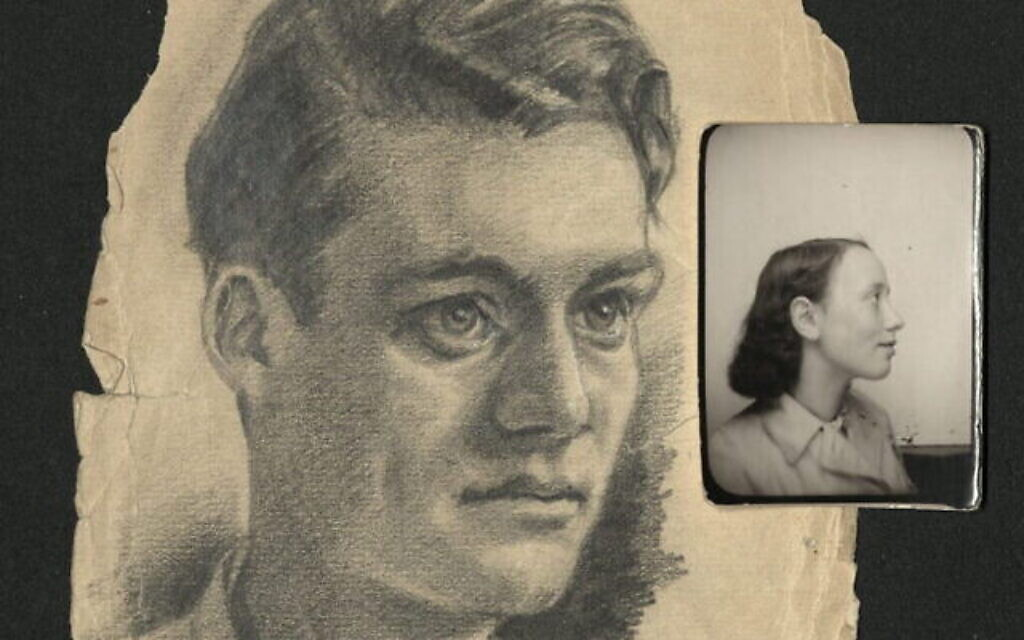 Un jeune homme dans un camp d'internement (Musée de commémoration américain de la Shoah, cadeau de David Spegal)