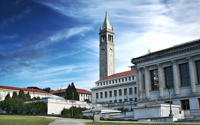 L'Université de Californie, Berkeley. (Charlie Nguyen/Flickr, CC BY 2.0 via JTA)