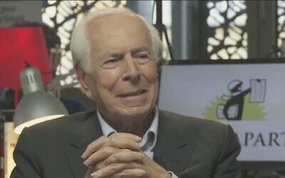 Jean Daniel, fondateur du Nouvel Observateur devenu l'Obs, est décédé à 99 an, le 20 février 2020. (Capture d'écran YouTube)