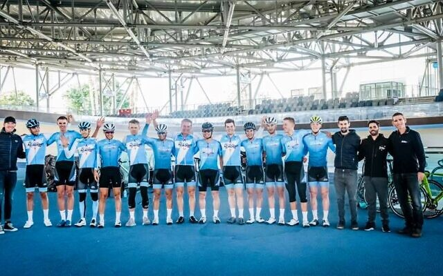 L'Israel Cycling Academy. (Crédit : Israel Start-Up Nation / Israel Cycling Academy / Facebook)