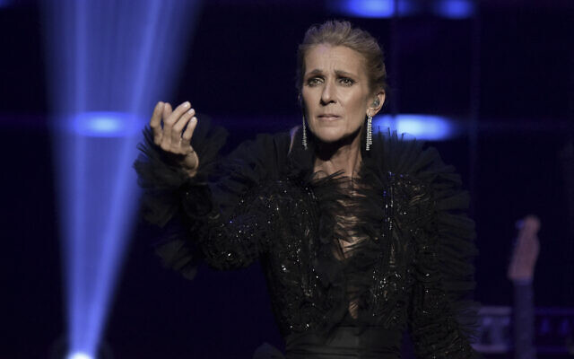 Céline Dion au Theatre at Ace Hotel le mercredi 3 avril 2019 à Los Angeles. (Crédit : Richard Shotwell / Invision / AP)