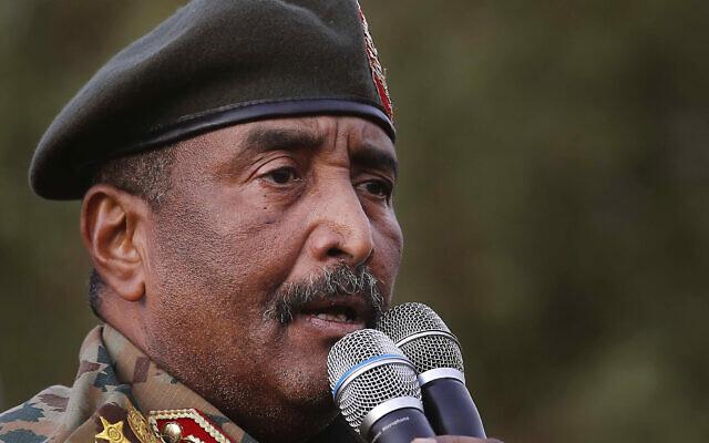 Le général soudanais Abdel-Fattah Burhan, chef du gouvernement de transition, en juin 2019. (AP Photo/Hussein Malla)