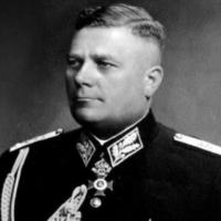 Le général Hristo Lukov, antisémite et allié nazi. (Crédit : JSowerby/ CC BY-SA 4.0)
