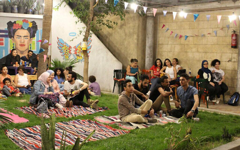 Un événement au centre communautaire rattaché à la vieille école israélite du Caire (Autorisation)