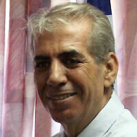 L'ancien maire de Sderot Eli Moyal en 2007 (Crédit : Edi Israel /FLASH90)