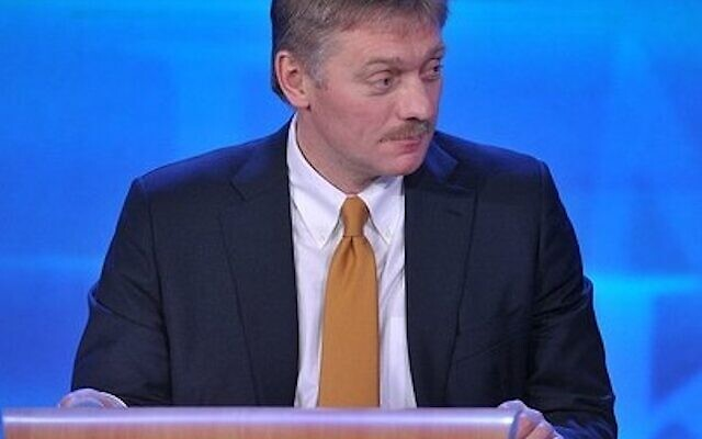 Dmitry Peskov, attaché de presse du Président de la Fédération de Russie. (Wikipedia / Kremlin Press Secretary)