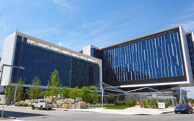 L'hôpital Sidney et Lois Eskenazi à Indianapolis. (Momoneymoproblemz via Wikimedia Commons)
