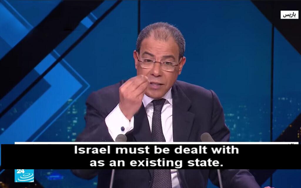 La vision régionale d'Israël est « archaïque », dit un professeur franco-marocain