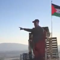 Une statue du commandant militaire iranienne assassiné Qassem Soleimani, dévoilée le 15 février 2020 dans le village libanais de Maroun al-Ras. (Capture d'écran: Twitter)