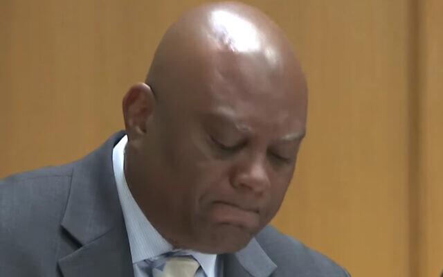 Le conseiller municipal de Tampa Bay Orlando Gudes s'excuse pour avoir employé un insulte antisémite, le 20 janvier 2020.  (Capture d'écran : YouTube)