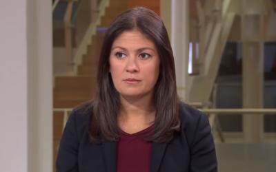 Lisa Nandy, candidate à la présidence du parti travailliste britannique, en janvier 2019 (Capture d'écran : YouTube)