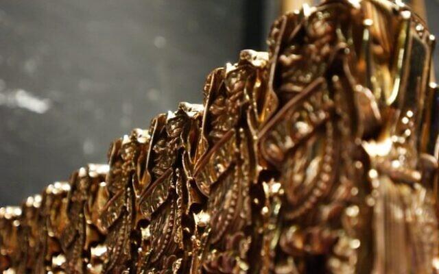 Les trophées des César. (Crédit : Autorisation Cérémonie des César 2020 via AFP / Relaxnews)