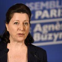 Agnès Buzyn, le 15 mars 2020 à Paris. (Crédit : Julien DE ROSA / POOL / AFP)