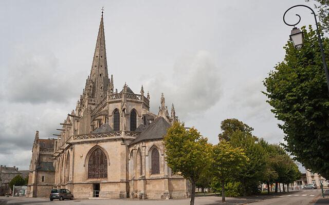 L'église Notre-Dame de Carentan. (Crédit : Andreas F. Borchert / CC BY-SA 4.0)