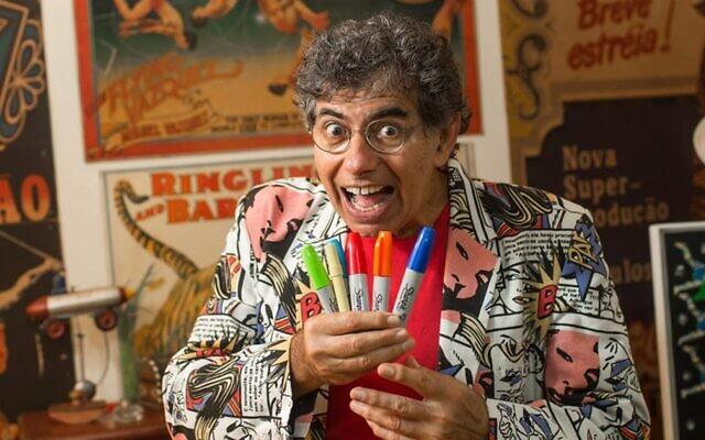 Daniel Azulay, un célèbre animateur et éducateur brésilien pour enfants, est décédé le 27 mars dernier des suites de complications liées au coronavirus. (Daniel Azulay Facebook)