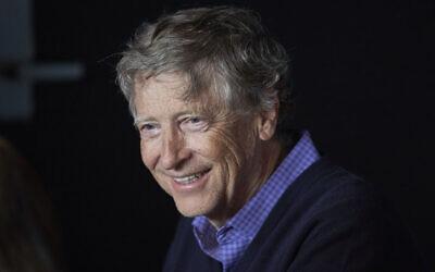 FICHIER - Cette photo de fichier du 5 mai 2019 montre le co-fondateur de Microsoft Bill Gates, lors de la réunion annuelle des actionnaires. (Crédit : AP / Nati Harnik, File)