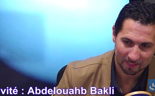 Abdelouahb Bakli (Crédit : capture d'écran Daily motion)