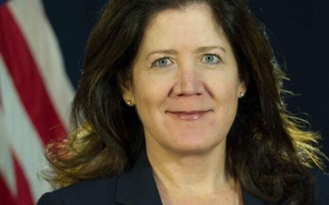 L'ambassadrice américaine au Liban, Dorothy Shea. (Crédit : Wikimedia Commons)