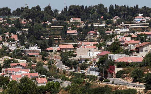 Kiryat Yearim, une petite ville près de Jérusalem, le 29 juin 2010. (Nati Shohat/Flash90)