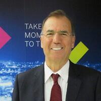 Le docteur Ami Appelbaum, président de l'Autorité israélienne de l'innovation et scientifique en chef au ministère de l'Economie et de l'Industrie (Crédit : Autorité de l'innovation israélienne)